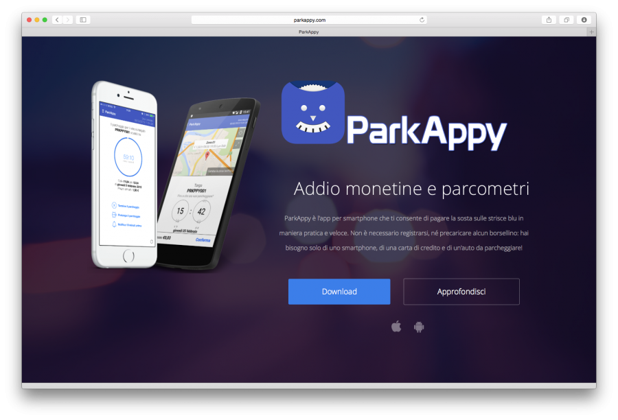 L'App ParkAppy integra Apple Pay